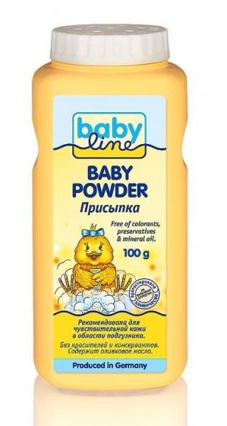 Детская присыпка Babyline 100 гр.
