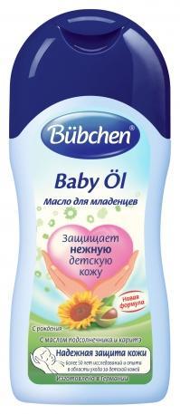 Детское масло Bubchen для младенцев 200 мл.