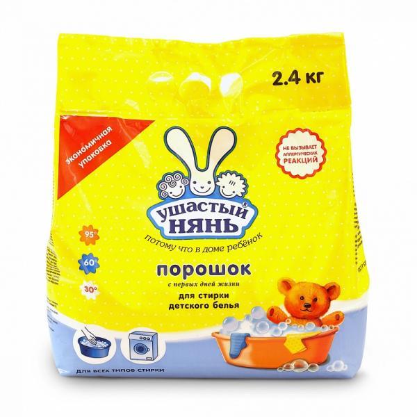 Стиральный порошок Ушастый нянь 2400 гр.