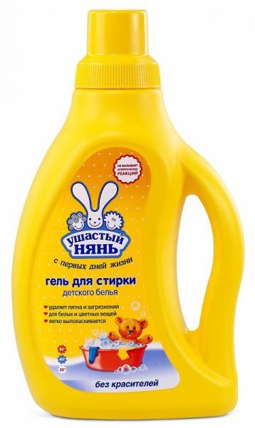 Жидкое средство Ушастый нянь для детского белья 750 мл.