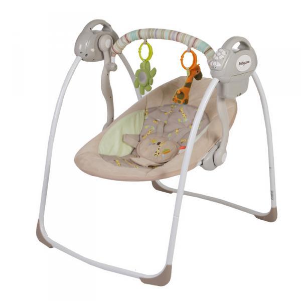 Электрокачели Baby Care Riva с адаптером