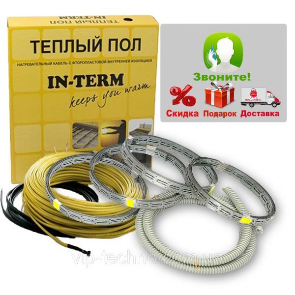 Двужильный нагревательный кабель IN-TERM (Fenix, Чехия) D=4 мм.