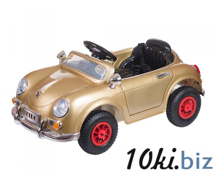 Электромобиль RETRO (золотой) Babyhit купить в Новосибирске - Детские электромобили, электромотоциклы