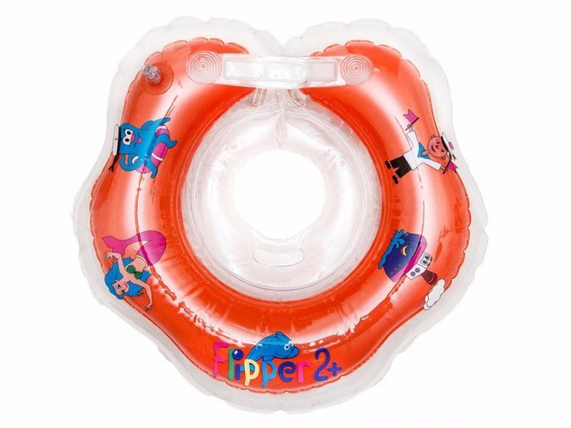 Flipper 2+ - Круг на шею для купания малышей от 1,5 лет (.) Roxy Kids