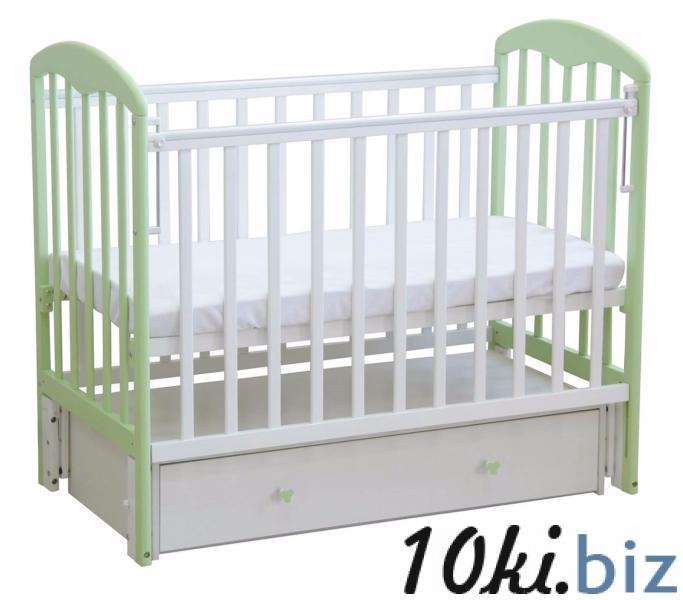 """Кроватка """"Фея 328"""" (.) Фея купить в Новосибирске - Кроватки для новорожденных, колыбели"""