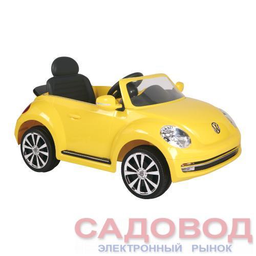 Электромобиль W486Q (желтый) Geoby Детские электромобили, электромотоциклы на рынке Садовод