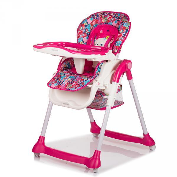 Стульчик детский MIRACLE (розовый) Babyhit