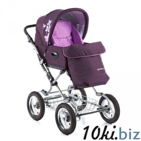 Коляска 05C703H (фиолетовый) Geoby Коляски-люльки, коляски-трансформеры в России