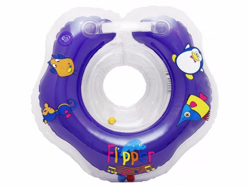 Flipper Мusic - Музыкальный круг на шею Flipper для купания малышей (.) Roxy Kids
