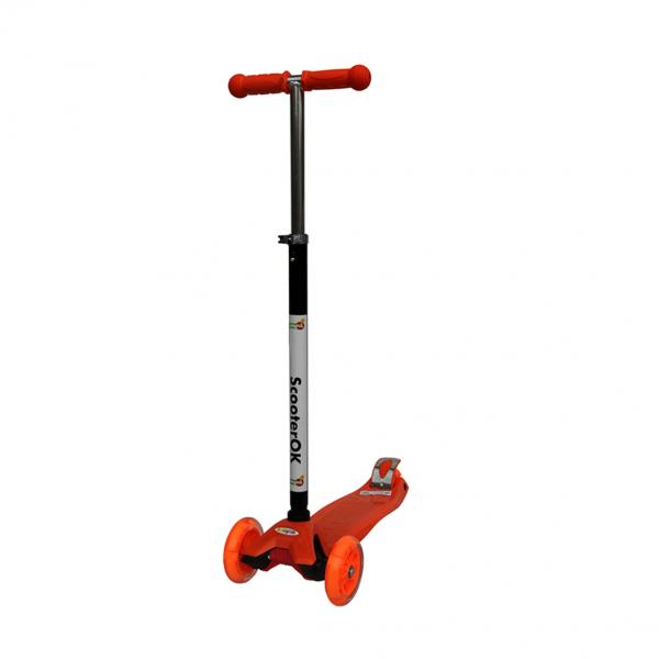 Самокат ScooterOK  Plus (оранжевый) Babyhit