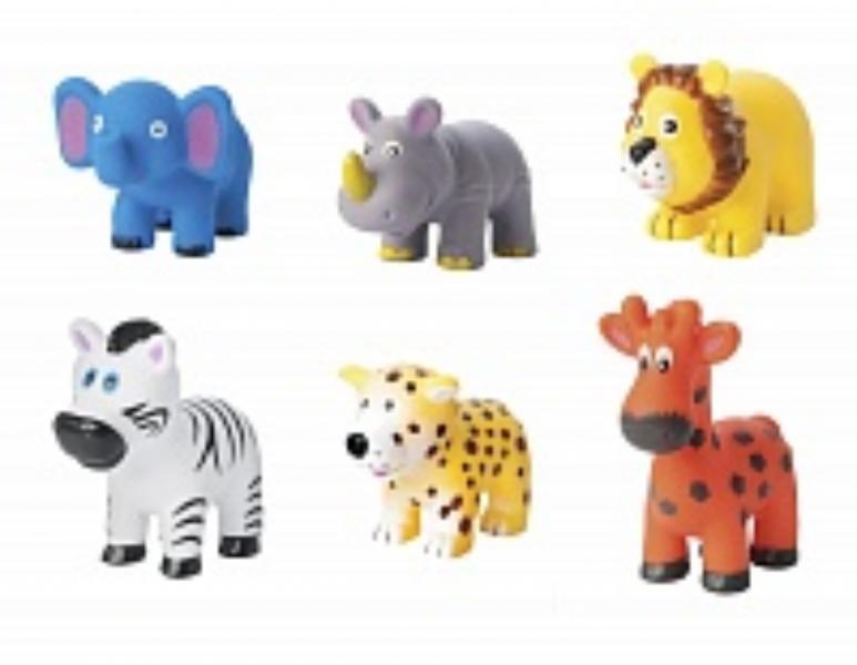 """Набор игрушек-брызгалок для ванны """"Животные Африки"""" (.) Babyhit"""