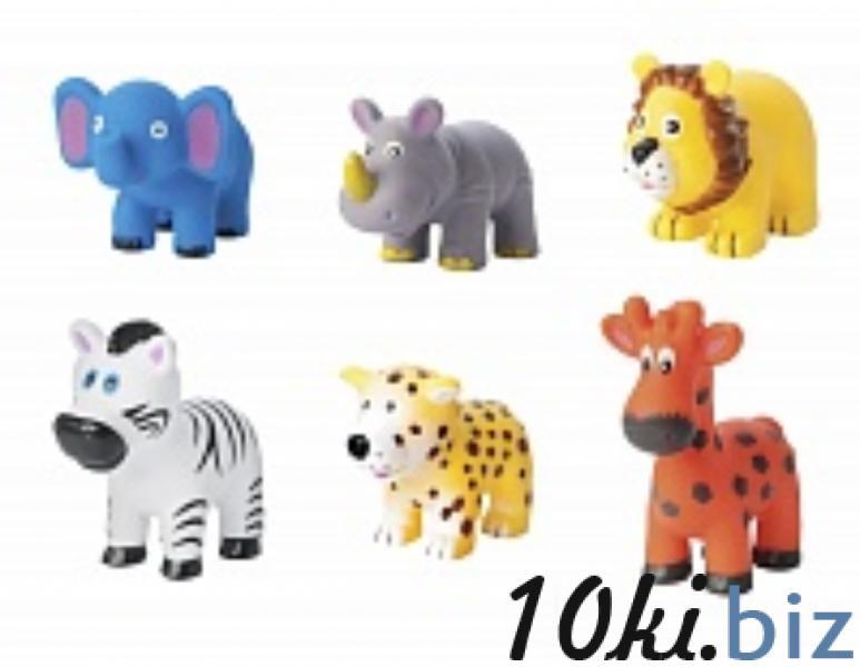 """Набор игрушек-брызгалок для ванны """"Животные Африки"""" (.) Babyhit Игрушки для купания на рынке Восток в Новосибирске"""