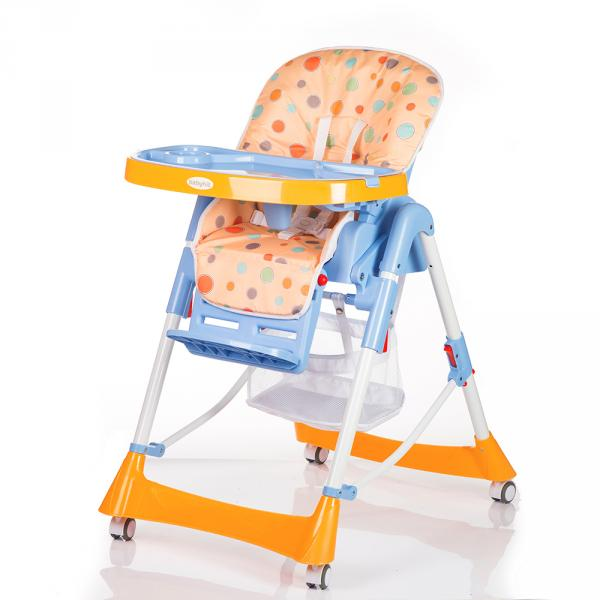 Стульчик детский APPETITE (желто-синий) Babyhit