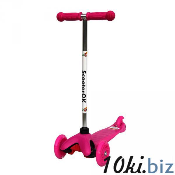 Самокат ScooterOK (розовый) Babyhit купить в Новосибирске - Самокаты