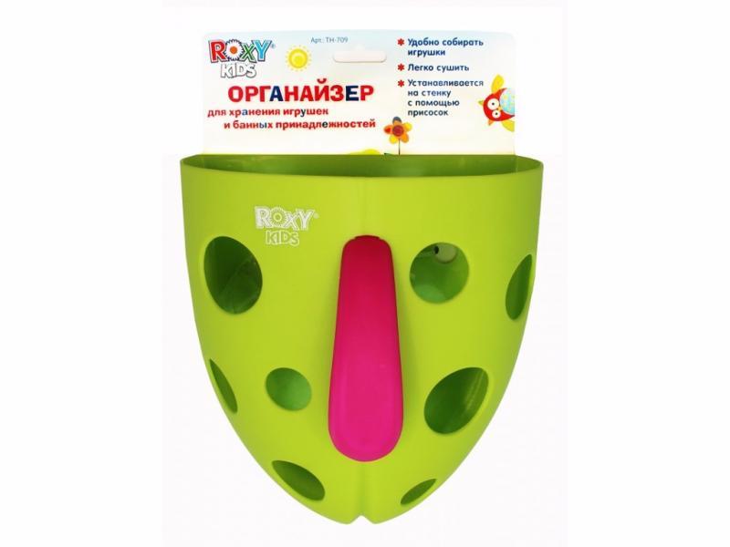 Органайзер для игрушек и банных принадлежностей на присоске (.) Roxy Kids