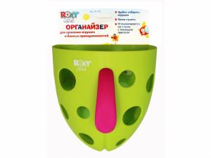 Фото Игрушки для купания Органайзер для игрушек и банных принадлежностей на присоске (.) Roxy Kids