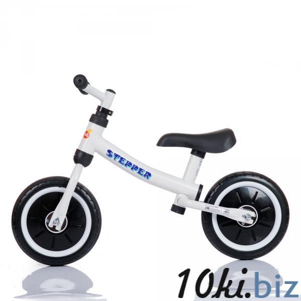 Беговел Stepper (белый) Babyhit купить в Новосибирске - Детские велосипеды, беговелы