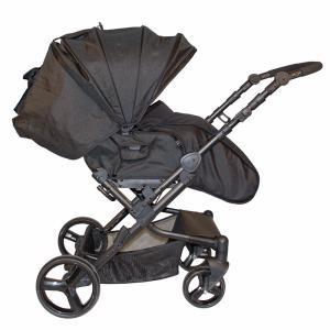 Фото Коляски трансформеры Коляска OASIS (серый с черным) Babyhit