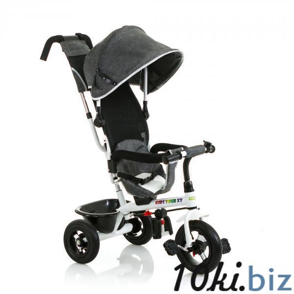 """Трицикл Kids Tour XT (Серая под """"лён"""") Babyhit купить в Новосибирске - Коляски детские, аксессуары к коляскам"""