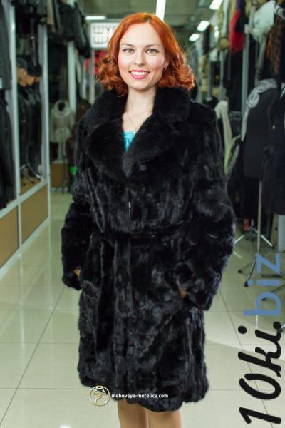 Классическая норковая шуба «Девана» Шубы норковые на Электронном рынке Украины