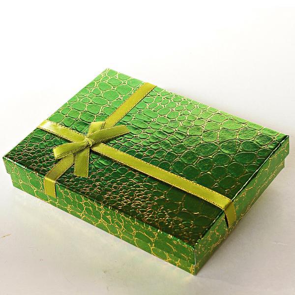 [16/12/3 см] Подарочная коробочка для украшений Змея большая прямоугольная 12шт
