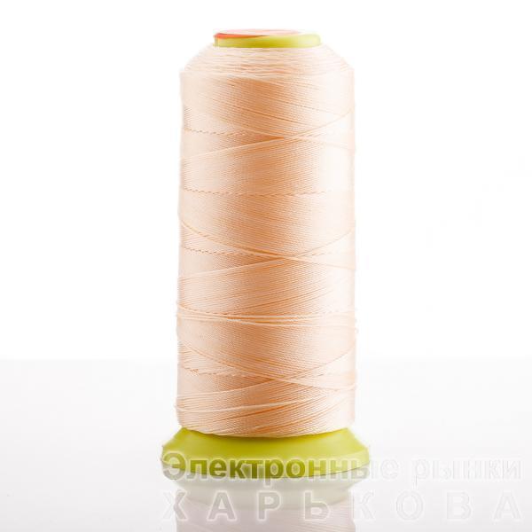 Нитка  Персиковый d-0.6 мм капроновая для рукоделия 500 м - Нитки швейные на рынке Барабашова