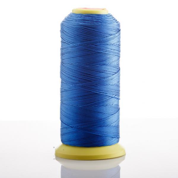 Нитка Синий d-0.9 мм капроновая для рукоделия 500 м