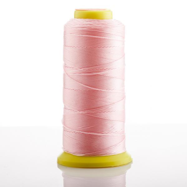 Фото Фурнитура для создания  украшений, Проволока, струна, монопроволока, шнуры шамбала, резинки,  нитки для бус Нитка Розовый  d-0.9 мм капроновая для рукоделия 500 м