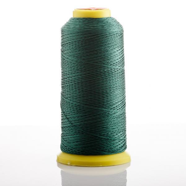 Нитка темно Зеленый  d-0.6мм капроновая для рукоделия 500 м