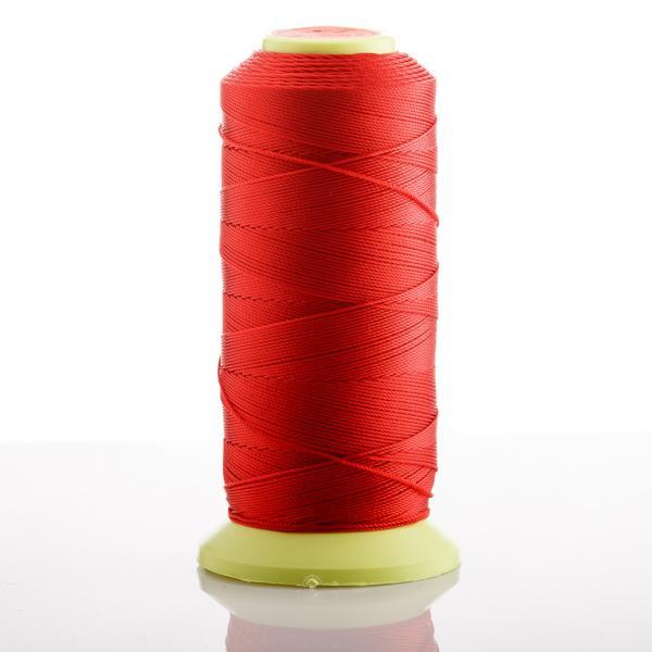 Нитка Красный d-0.9 мм капроновая для рукоделия 500 м