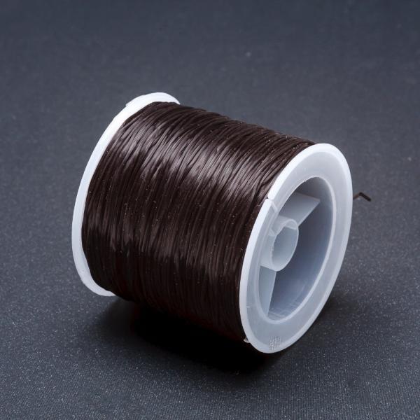Резинка для рукоделия катушка Черный L-50м