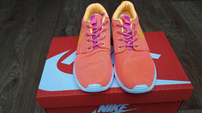 Фото СПОРТИВНАЯ ОБУВЬ Nike Roshe Run Orange (36-40)