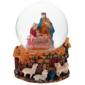 Фото  Фигурка декоративная в стеклянном шаре