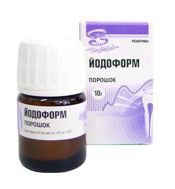 Iodoformium (Йодоформ - Владмива) 10г.
