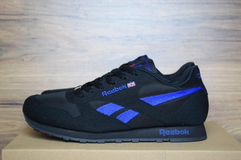 Reebok Classic Black Blue (41-46)