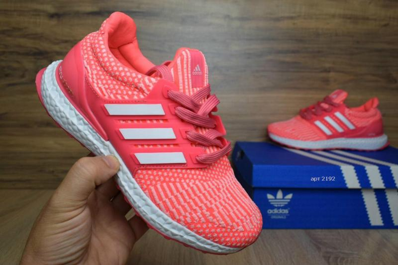 Фото  Adidas Ultra Boost Pink (36-41)
