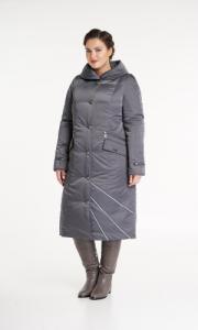 Фото  Женское пальто большого размера