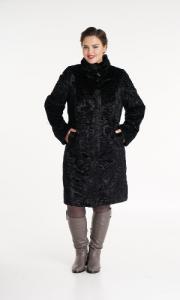 Фото  Шуба женская большого размера
