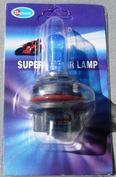 Лампа РН-11 12V35\35 синяя