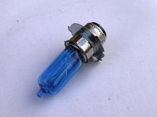 Лампа фары 12V35/35W P15d-25-3 (3 уса синяя блистер)