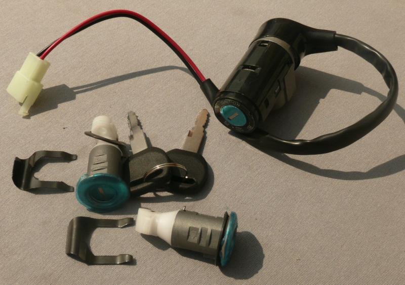 Замок зажигания комплект DIO-50 2 провода
