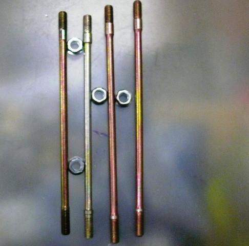 Шпилька цилиндра GY6-50 4шт.