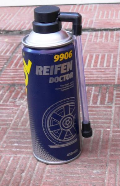 Рем. комплект для бескамерки MANNOL 450мл (Докторши, аэрозоль)