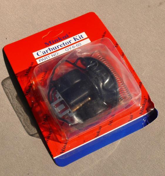 Рем. комплект карбюратора GY6-80 с мембраной