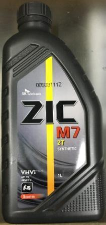 Масло ZIC 2т синтетика ( Корея) 1л (ящ - 12 шт.)
