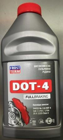 Тормозная жидкость FROST TERM Dot-4 0,375 L