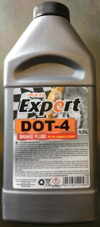 Тормозная жидкость EXPERT Dot-4 0,5 L