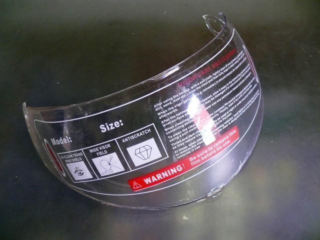 Стекло для шлема трансформера
