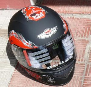 Фото Экипировка Шлем AD-178 чёрный - матовый с рисунком