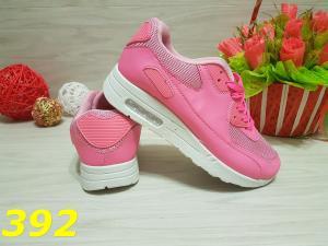 Фото Кроссовки, кеды Кроссовки аирмаксы ярко розовые